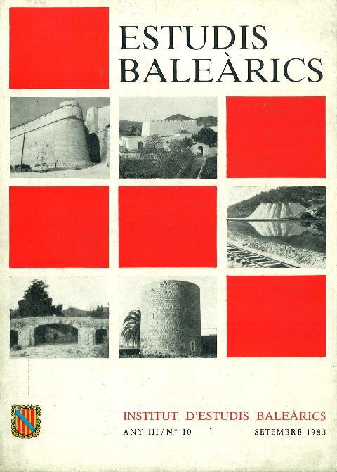 Estudis Baleàrics, núm. 10