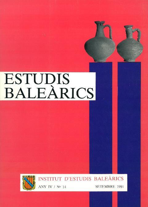 Estudis Baleàrics, núm. 14
