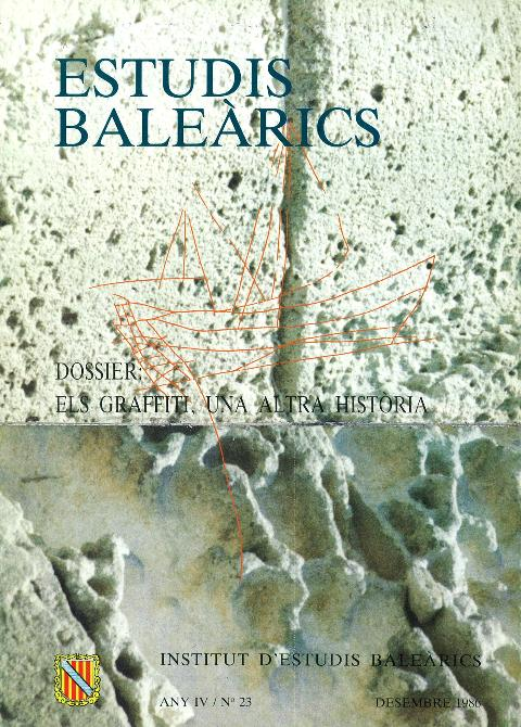 Estudis Baleàrics, núm. 23. Els graffiti, una altra història