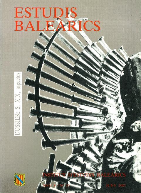 Estudis Baleàrics, núm. 25. S. XIX, aspectes