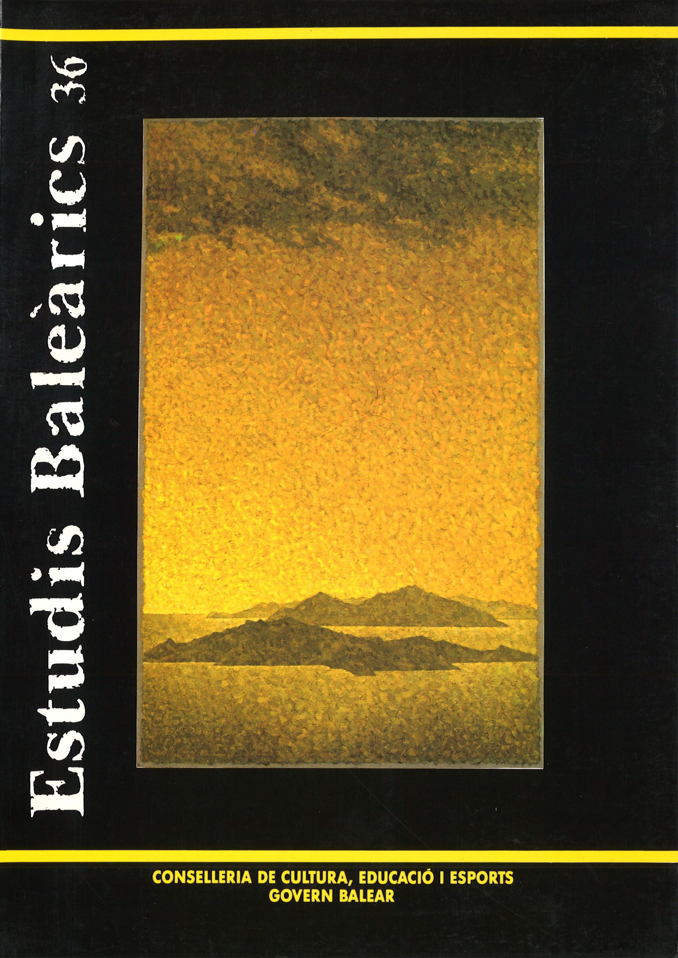 ESTUDIS BALEÀRICS - núm. 36
