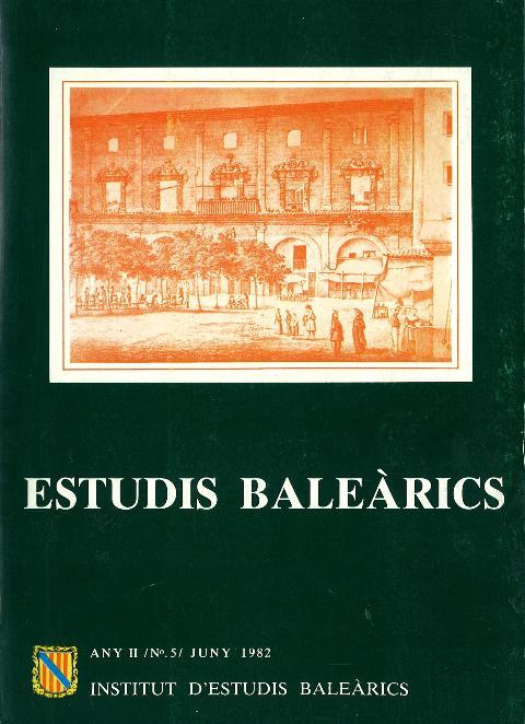 Estudis Baleàrics, núm. 5