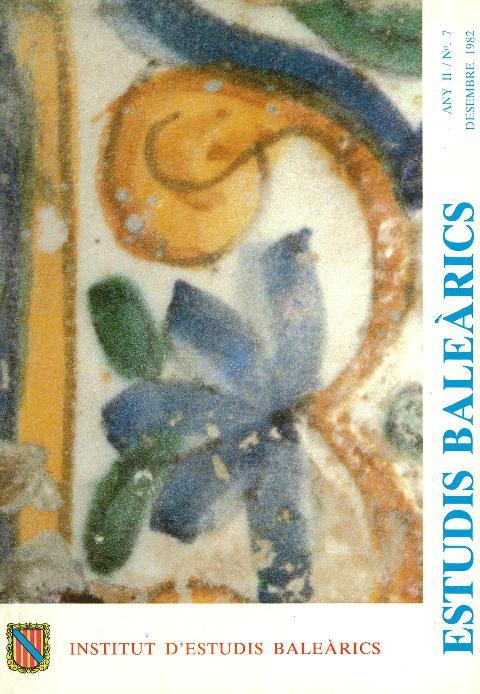 Estudis Baleàrics, núm. 7
